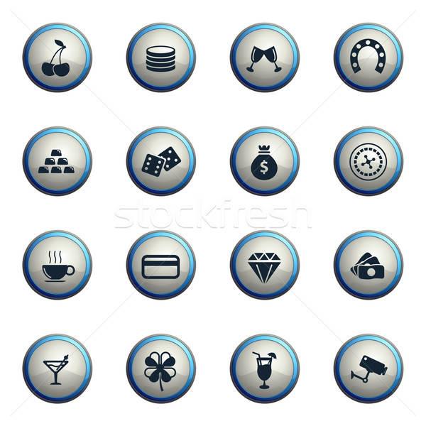 Casino web gebruiker interface geld Stockfoto © ayaxmr