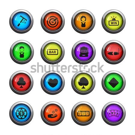 Сток-фото: казино · веб · пользователь · интерфейс · стороны