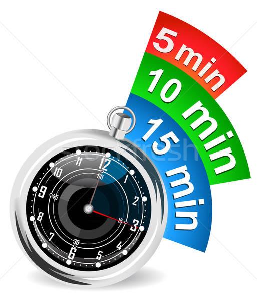 Cronógrafo marcador eps 10 velocidad ver Foto stock © ayaxmr