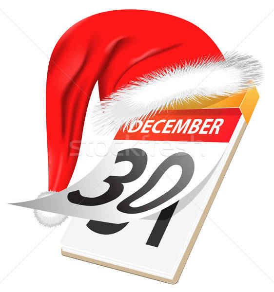 New Year calendar december 31 Stock photo © ayaxmr