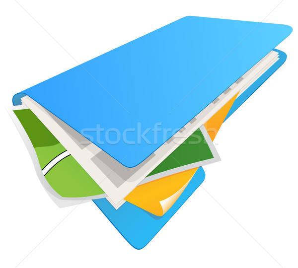 folder with documents Stock photo © ayaxmr