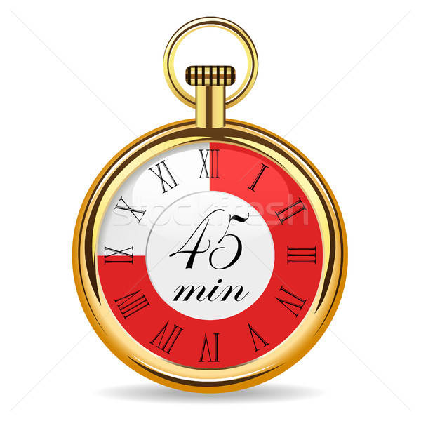 mechanical watch timer 45 minutes Stock photo © ayaxmr