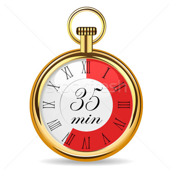 mechanical watch timer 35 minutes Stock photo © ayaxmr