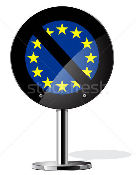 Británico referéndum signo conceptos símbolo negocios Foto stock © ayaxmr
