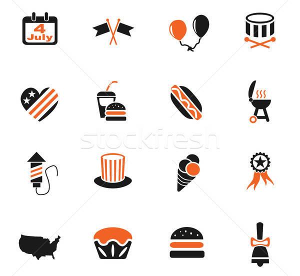Stock fotó: Nap · ikon · gyűjtemény · webes · ikonok · felhasználó · interfész · terv
