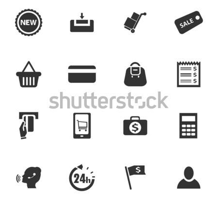 Eコマース ウェブ ユーザー インターフェース ストックフォト © ayaxmr