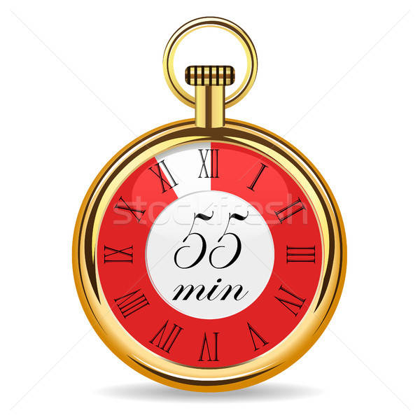 mechanical watch timer 55 minutes Stock photo © ayaxmr