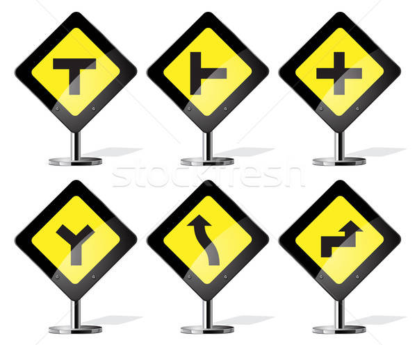 Road Signs Stock photo © ayaxmr