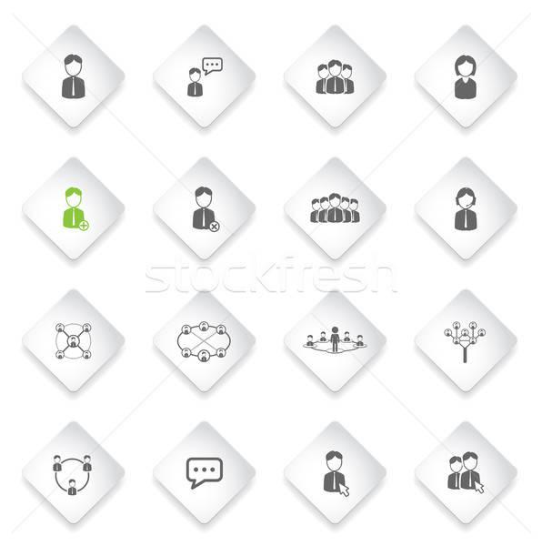 コミュニティ 単に アイコン シンボル webアイコン ユーザー ストックフォト © ayaxmr