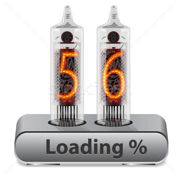 Stock photo: Loading Progress Indicator