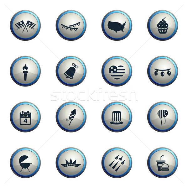 Zi pur si simplu icoane web utilizator Imagine de stoc © ayaxmr