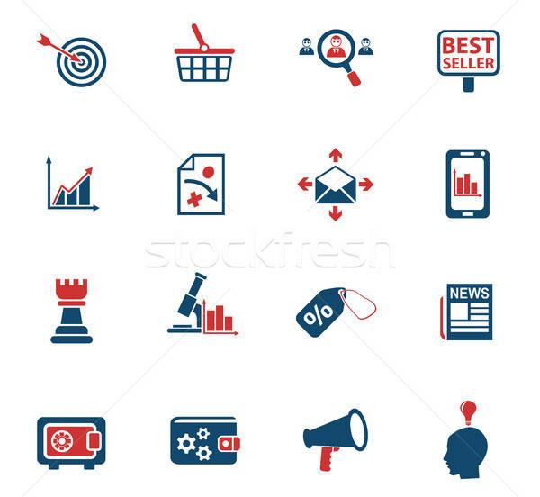 Stockfoto: Marketing · web · icons · gebruiker · interface · ontwerp
