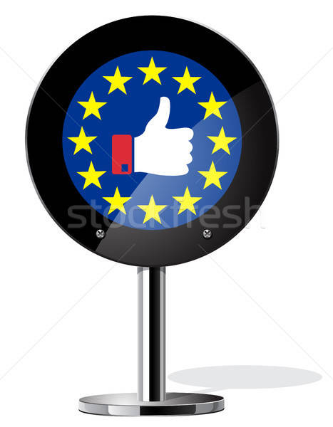 Brexit British referendum concept sign Stock photo © ayaxmr
