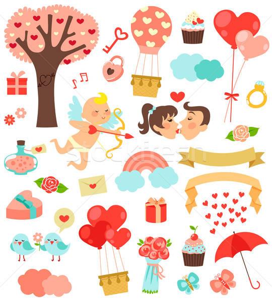 love icons Stock photo © ayelet_keshet