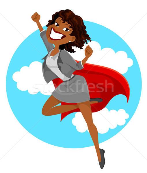 African super business woman  Stock photo © ayelet_keshet