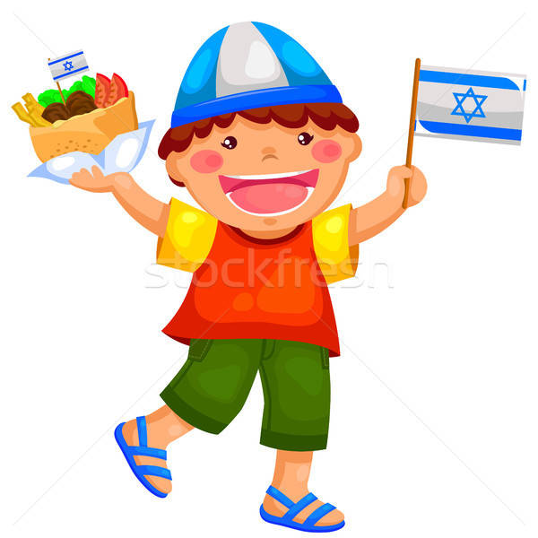 israeli kid Stock photo © ayelet_keshet