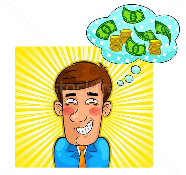 お金 ファンタジー 人 ビジネス 男 幸せ ストックフォト © ayelet_keshet