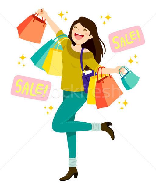 Sales Shopping Stock photo © ayelet_keshet