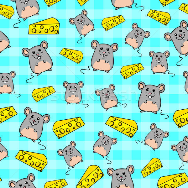mice pattern Stock photo © ayelet_keshet
