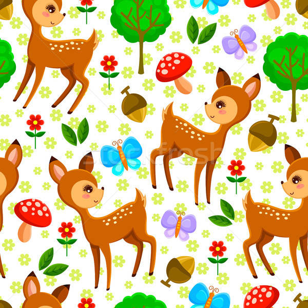 deer pattern Stock photo © ayelet_keshet