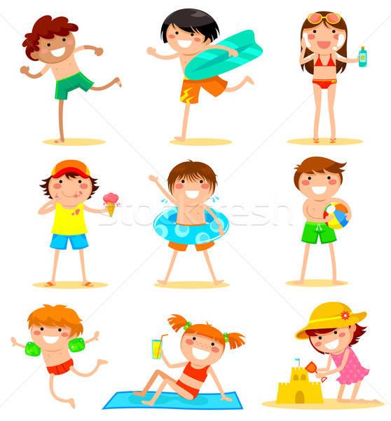 kids in summer Stock photo © ayelet_keshet