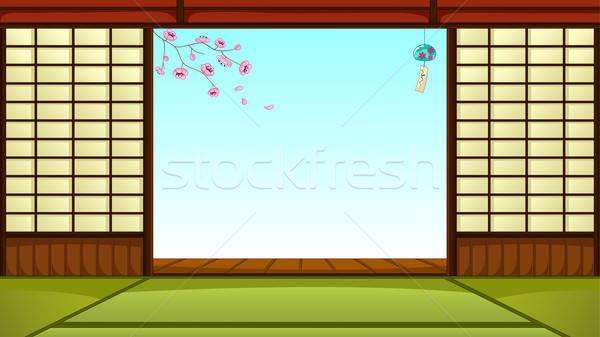 japanese room Stock photo © ayelet_keshet
