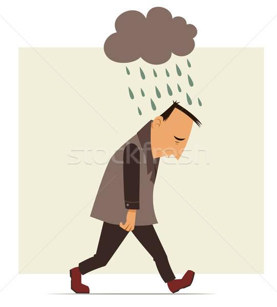 depressed man  Stock photo © ayelet_keshet