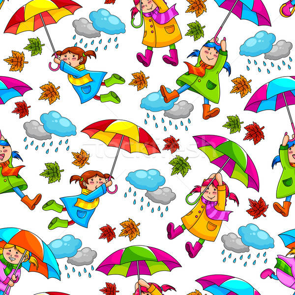 umbrellas pattern Stock photo © ayelet_keshet