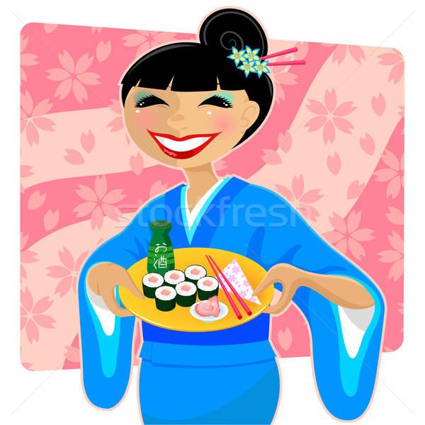 japanese meal Stock photo © ayelet_keshet