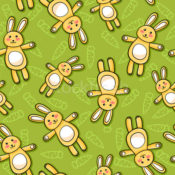 rabbits pattern Stock photo © ayelet_keshet