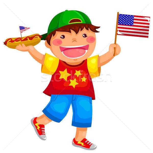 Американец рисует