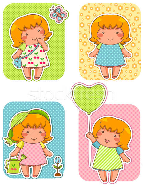 cute girly designs Stock photo © ayelet_keshet