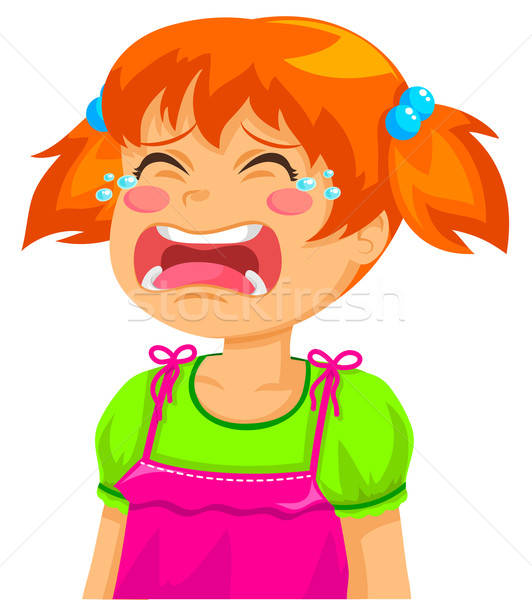 crying girl Stock photo © ayelet_keshet