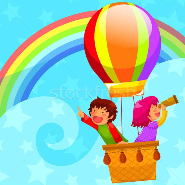 hot air balloon Stock photo © ayelet_keshet