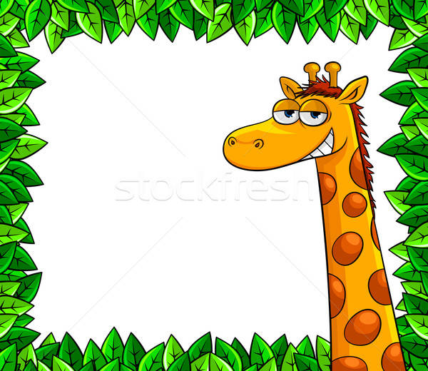 giraffe in the woods Stock photo © ayelet_keshet