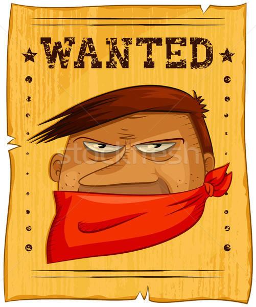 wanted bandit Stock photo © ayelet_keshet