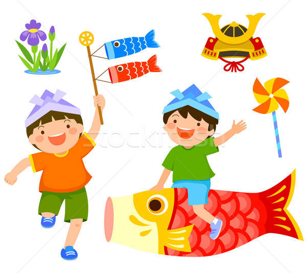 Japan's Children's Day or Kodomo No Hi Stock photo © ayelet_keshet