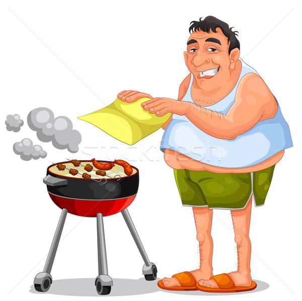 barbecue Stock photo © ayelet_keshet
