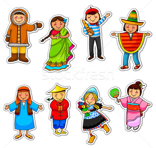 ethnic diversity Stock photo © ayelet_keshet