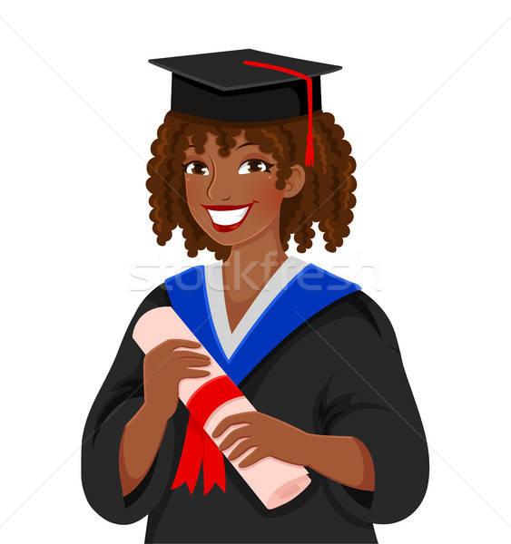 Graduating from college Stock photo © ayelet_keshet