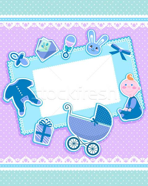 赤ちゃん カード かわいい グリーティングカード 子 デザイン ストックフォト © ayelet_keshet
