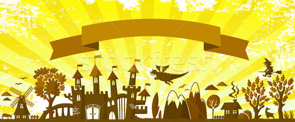 fairytale banner Stock photo © ayelet_keshet