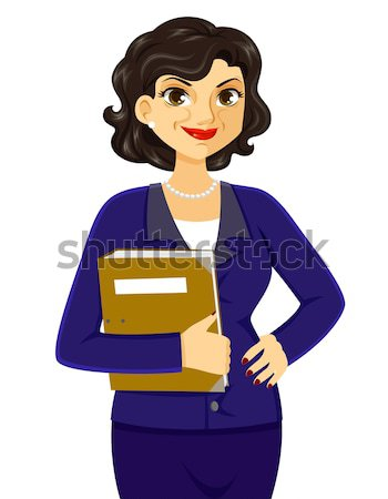 mature business woman Stock photo © ayelet_keshet