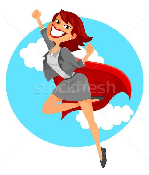 super business woman Stock photo © ayelet_keshet