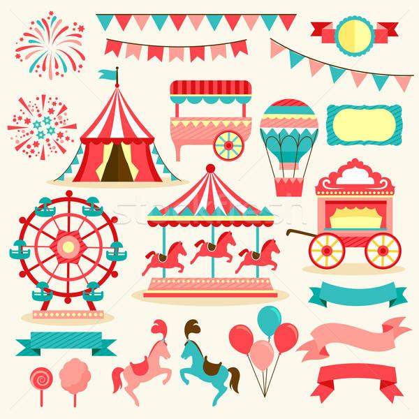 carnival elements Stock photo © ayelet_keshet