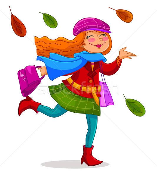 happy autumn Stock photo © ayelet_keshet