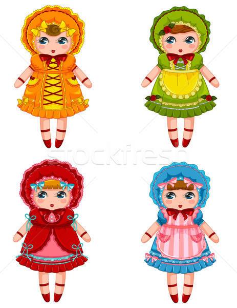 dolls collection Stock photo © ayelet_keshet
