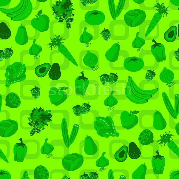 野菜 フルーツ パターン 果物 野菜 ストックフォト © ayelet_keshet