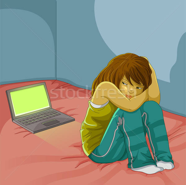 bullying online Stock photo © ayelet_keshet