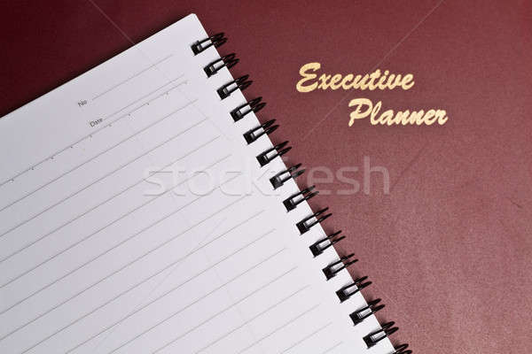 Executive Planner with Note Book Stock photo © azamshah72